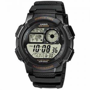 Casio AE1000W-1AV Men's Resin Sport Watch with Black Band