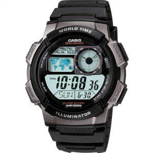 Casio AE1000W-1BV Men's Sport Black Resin Band Medium Watch