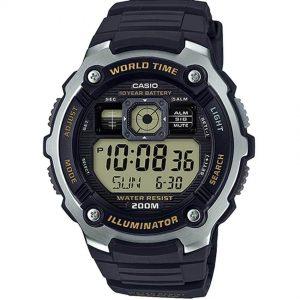 Casio AE2000W-9AV Men's Multi-Function Digital Resin Band Watch
