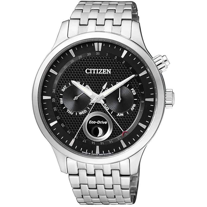 Citizen AP1050-56E Men's Eco-Drive Moon Phase Analog Watch