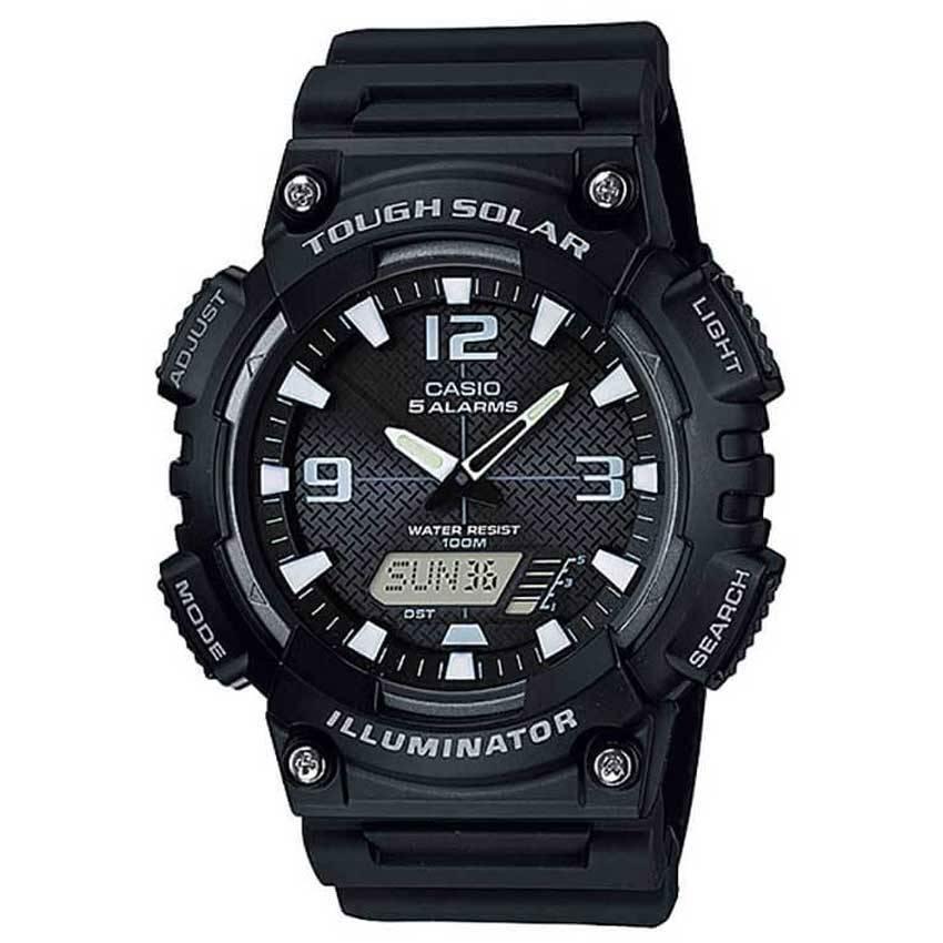 Casio AQS810W-1AV Men's Solar Sport Combination Watch