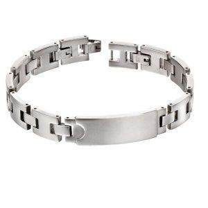 Fred Bennett B5117 Men's Stainless Steel ID Bracelet