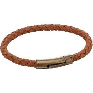 Fred Bennett B5137 Men's Brown Suede Bracelet