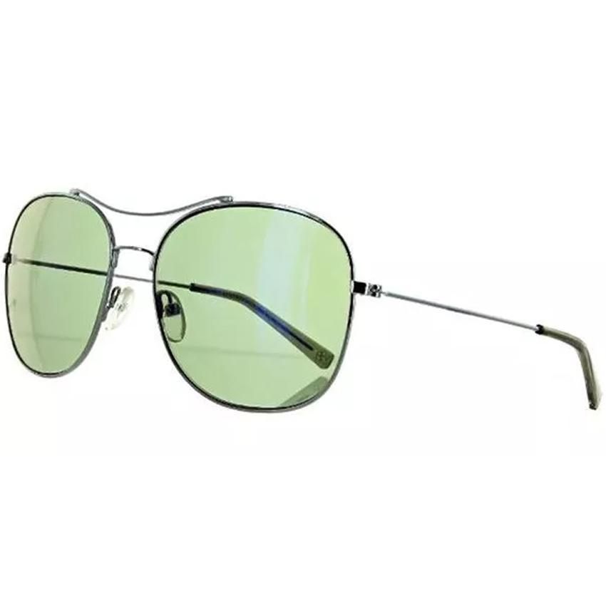 Banana Republic ALEX/S 06LB Men's Silver Frame Green Lens Sunglasses