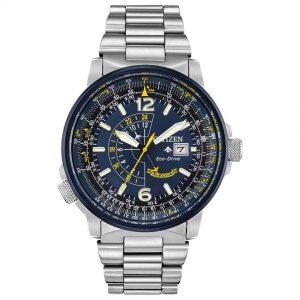 Citizen BJ7006-56L Men's Eco-Drive Promaster Nighthawk Blue Dial  Watch