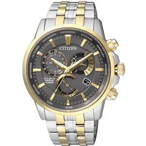 Citizen BL8144-89H Men's Eco-Drive Perpetual Calendar Sapphire Two Tone Bracelet Watch