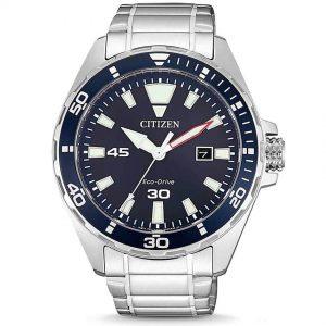 Citizen BM7450-81L Men's Eco-Drive Blue Dial Analog Watch