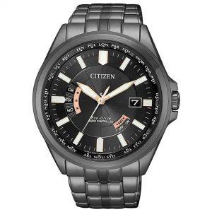 Citizen CB0185-84E Men's Eco-Drive Radio Controlled Black Watch