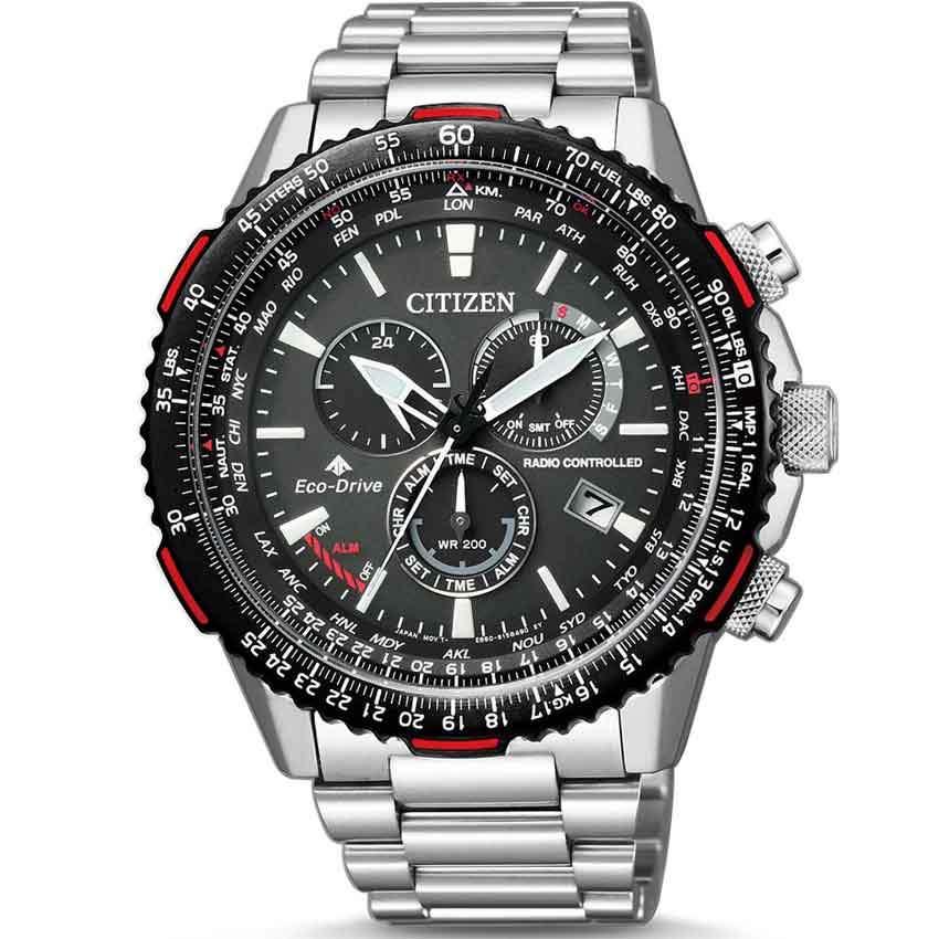 Citizen CB5001-57E Men's Promaster Eco-Drive Radio Controlled Chronograph Watch