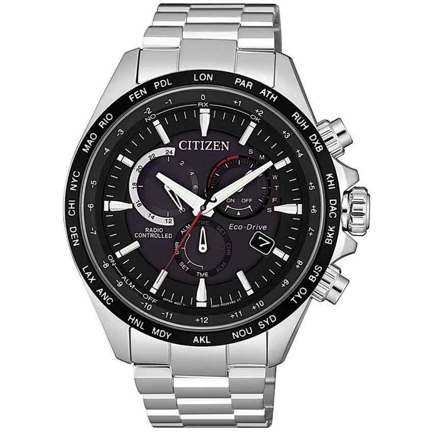 Citizen CB5838-85E Men's Eco-Drive Radio Controlled Chronograph Watch