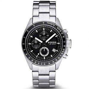 Fossil CH2600IE Men's Decker Stainless-Steel Watch