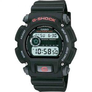 Casio DW9052-1V Men's G-Shock Tough Shock Water Resistant Digital Resin Band Medium Size Watch
