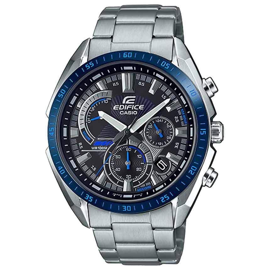 Casio Gent's EFR-570DB-1BVUDF Edifice Blue Bezel Chronograph Watch