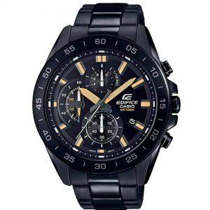 Casio EFV-550DC-1AVUDF Men's Edifice Chronograph Black Bracelet Watch