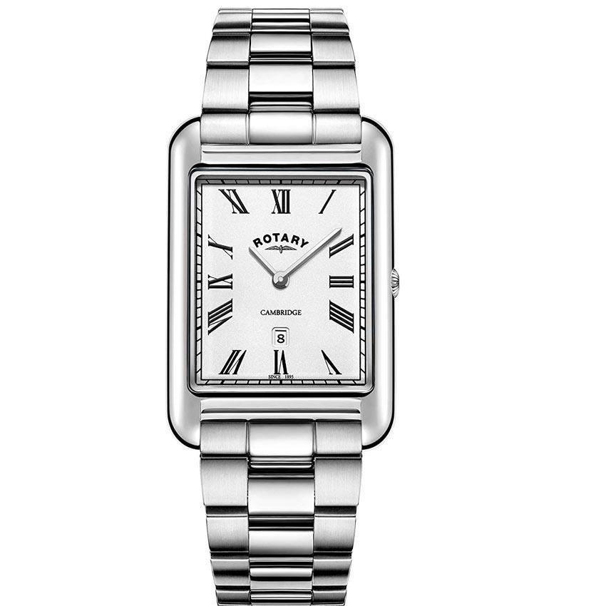 Rotary GB05280/01 Men's Cambridge Stainless Steel Bracelet Watch
