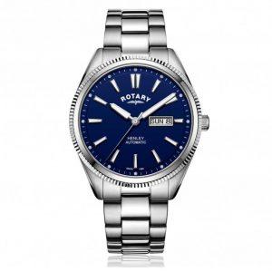 Rotary GB05380/05 Men's Henley Serrated Bezel Automatic Watch