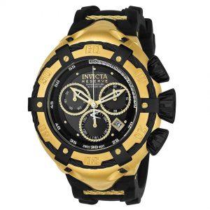 Invicta 21353 Men's Bolt Quartz Chronograph Black Dial XL Watch