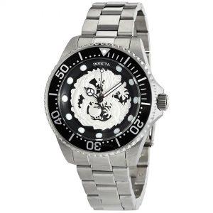 Invicta 26489 Men's Pro Diver Automatic Dragon Black Dial Watch