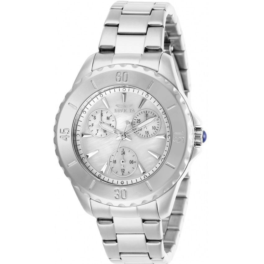 Invicta 29106 Women's Angel Quartz 3 Hand White Dial Watch