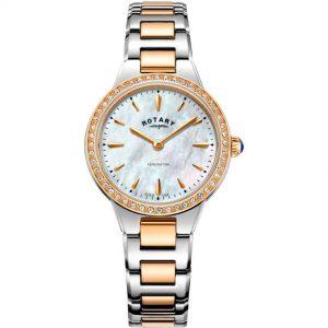 Rotary LB05277/41 Women's Kensington Two Tone Rose Gold Medium Watch