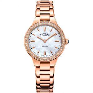 Rotary LB05279/41 Women's Kensington Rose Gold Medium Watch