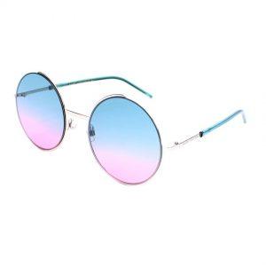 Marc Jacobs Marc 34/S Women's Palladium, Aqua Pink Lens Sunglasses