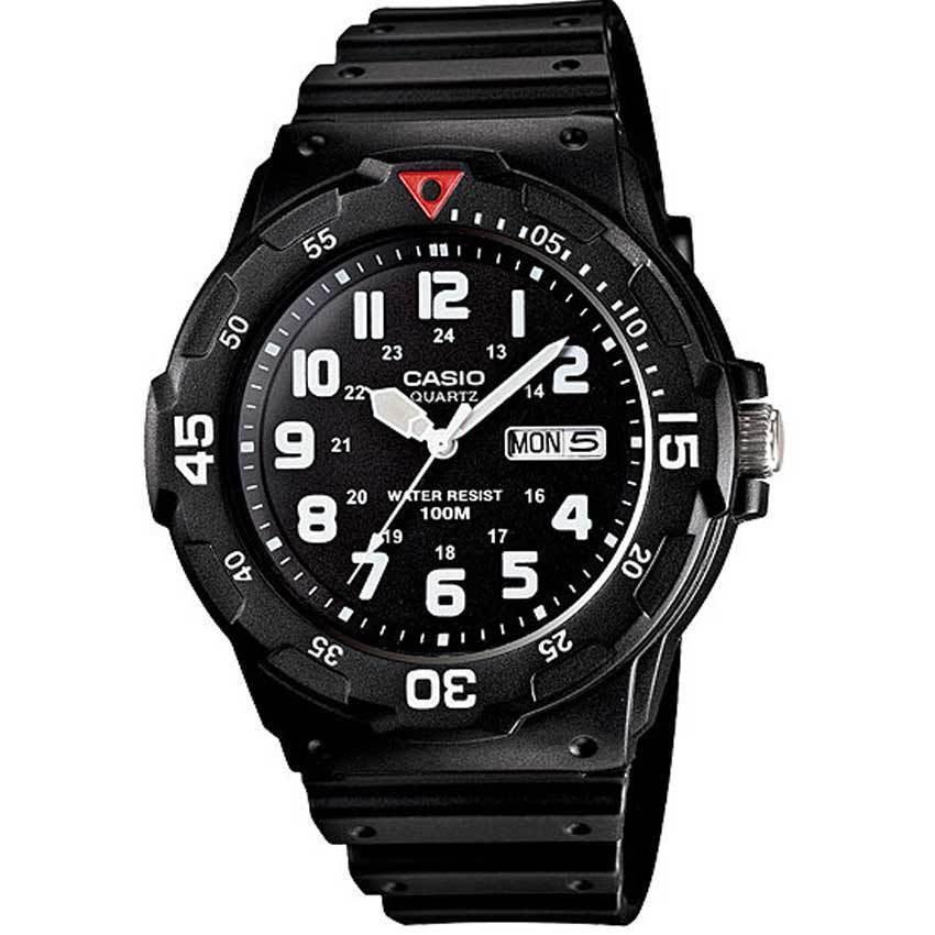 Casio MRW200H-1BV Men's Black Resin Dive Watch