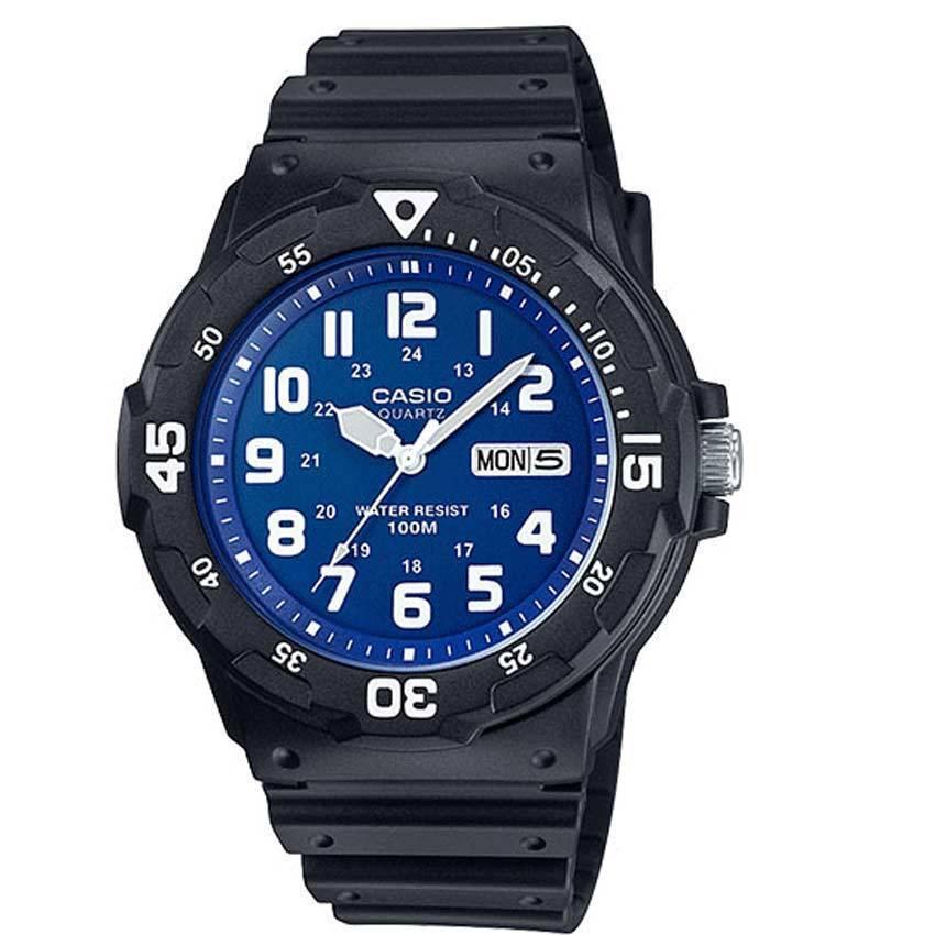 Casio MRW200H-2B2V Men's Classic Analog Blue Dial Medium Size Watch