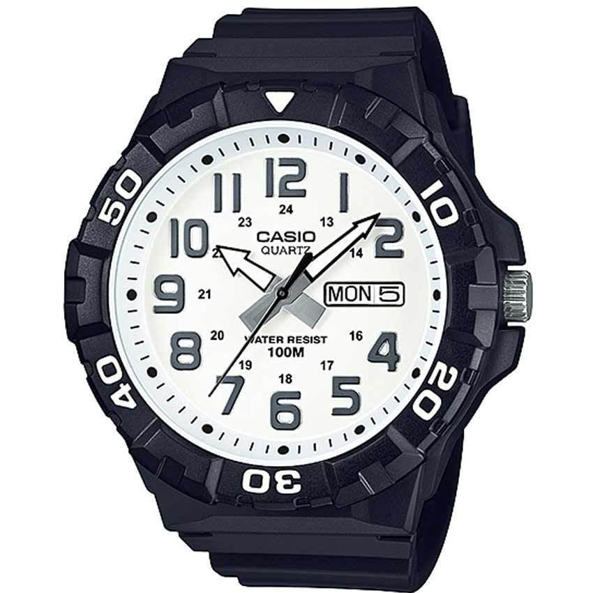 Casio MRW210H-7AV Men's White Dail Analog Watch