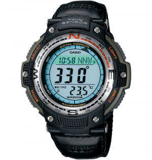 Casio SGW100B-3V Men's Digital Compass Twin Sensor Watch