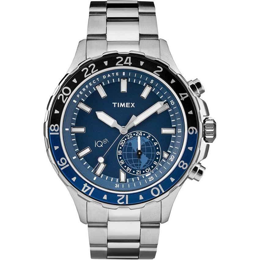 Timex T2R397 Intelligent Quartz + Move Multi-Time Smart Watch