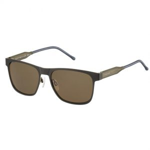 Tommy Hilfiger 1394/S Men's Metal Frame Brown Lens Sunglasses