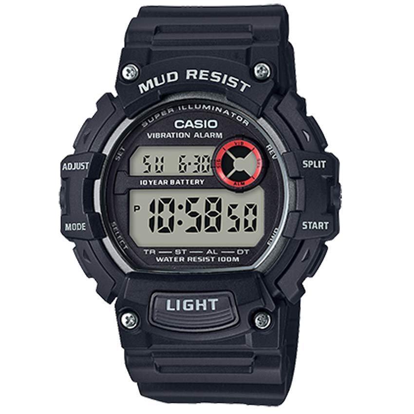 Casio TRT110H-1AV Men's Mud Resistant Illuminator Resin Watch