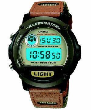 Casio W89HB-5AV Men's Illuminator Sport Medium Watch