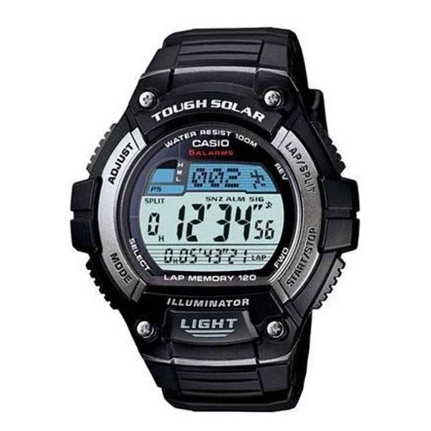 Casio WS220-1AV Men's Tough Solar Multi-Function Runner Watch